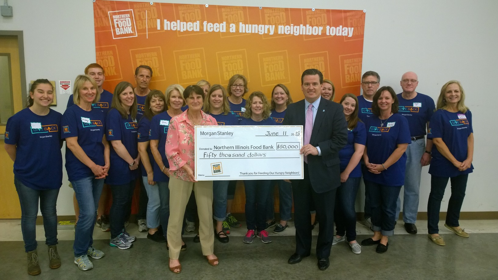Morgan Stanley Grant Supports Food Bank S School Pantry