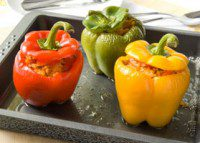 Budget Friendly Stuffed Peppers