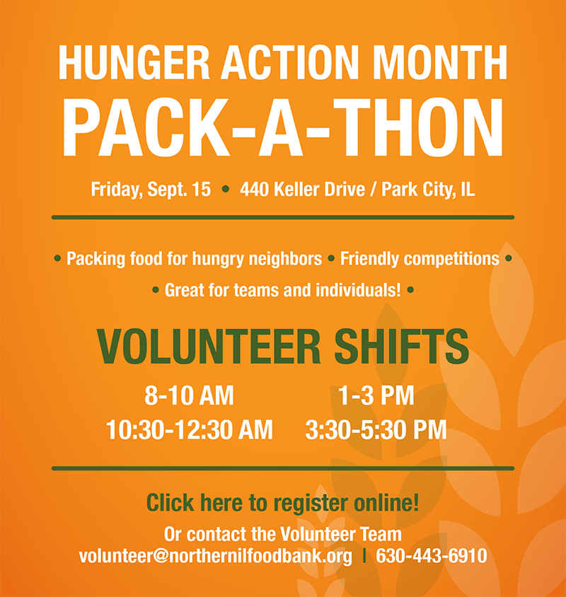 Click here to volunteer at the Pack-A-Thon