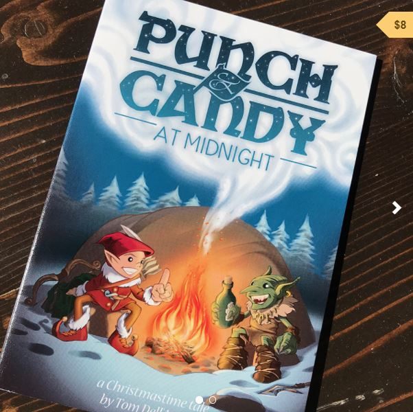 Punch & Candy graphic novel