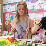 Kids Eating Healthy with Nutrition Ed