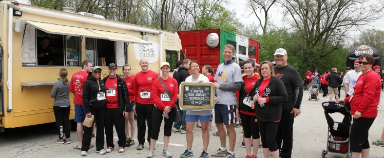 Toasty Cheese at Foodie 5K
