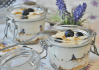 Blueberry Lemon Yogurt Parfait