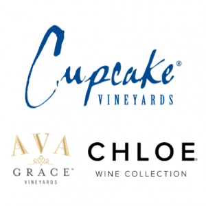 Cupcake Vineyards, Ava Grace Vineyards, & Chloe Wine Collection logos